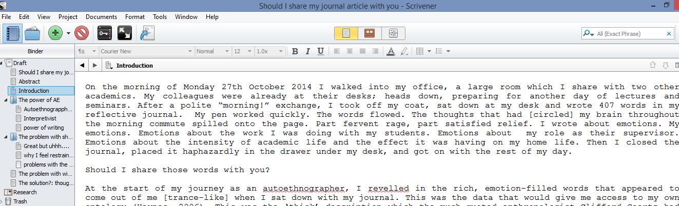 write phd thesis word