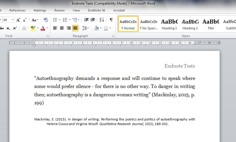 footnotes and endnotes in research paper